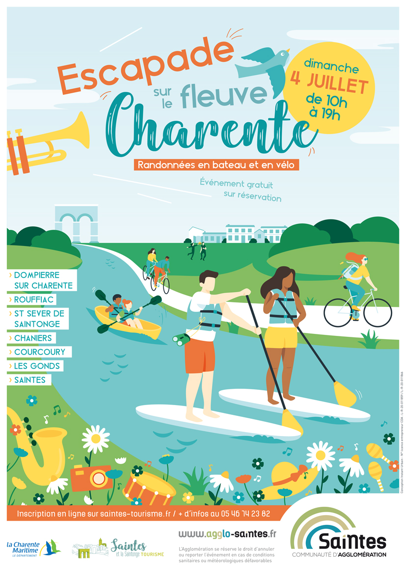Escapade fleuve Charente